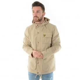 Lyle & Scott | JK808V Lightweight Hooded Jacket - Light Stone