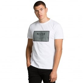 Nicce London | EST-13 Box Logo Infill Half-Sleeve T-Shirt
