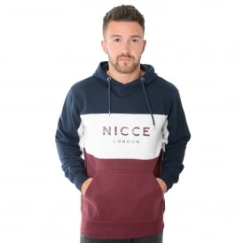 Nicce London | Triple Panel Overhead Hooded Top