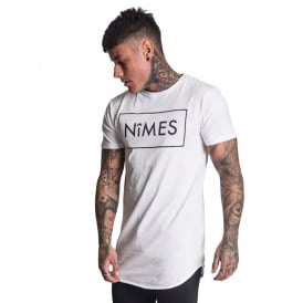Nimes | Long Line Half-Sleeve T-Shirt