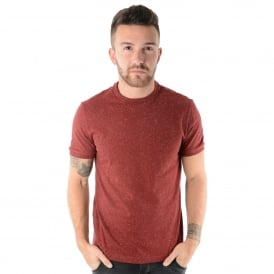 Penguin OPKF7059 Speckled T-Shirt - Plum