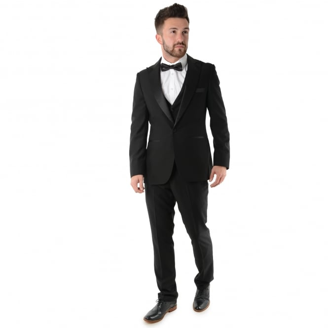 Paul Andrew | Regent Tuxedo Three Piece Jacquard Dinner Suit