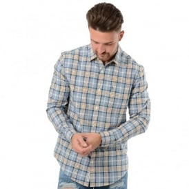 Penguin OPWF6001 Long Sleeve End on End Plaid Shirt
