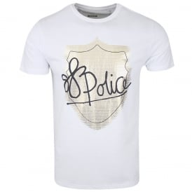 Police Lowa 5422 Graphic T-Shirt - White