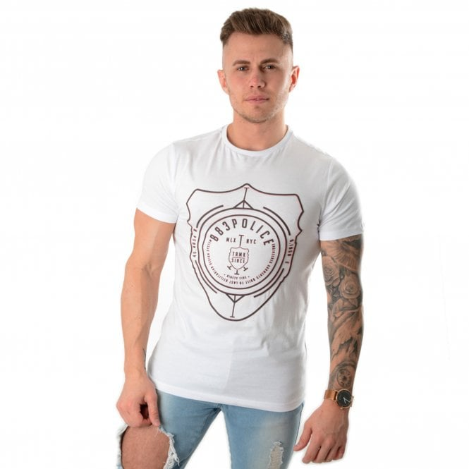 Police Ostend 19A Half Sleeve T-Shirt