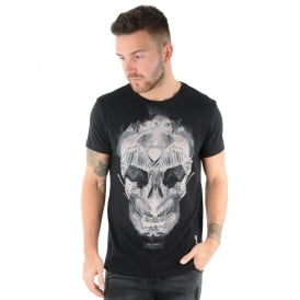 Religion 47BWIF33001 Skull Eagle T-Shirt