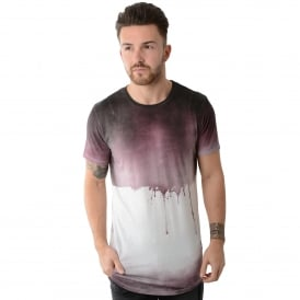 Religion MBSDF30043 Soft Drip Cordovan T-Shirt - Purple