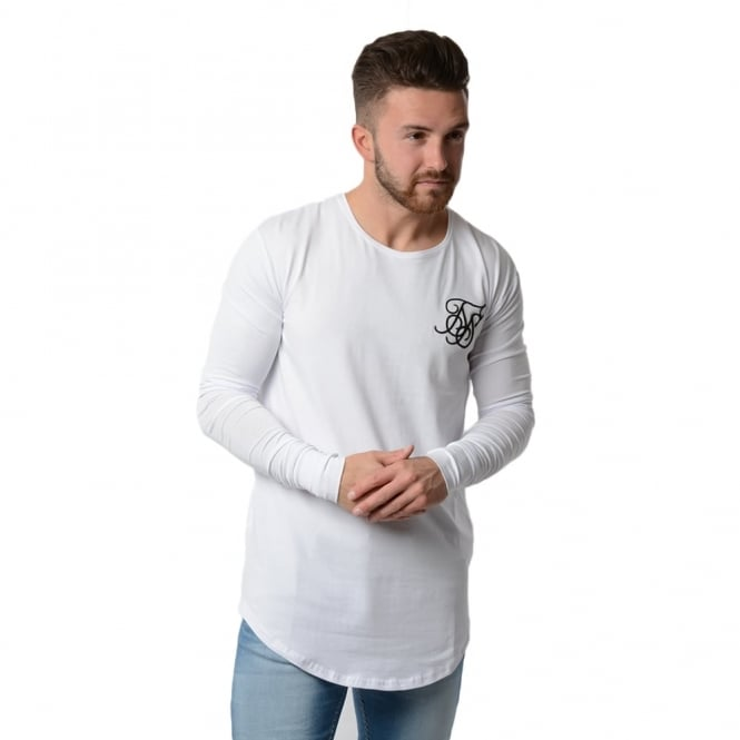 Buy sik silk t shirts sik silk undergarment ls t shirt for Silk white t shirt