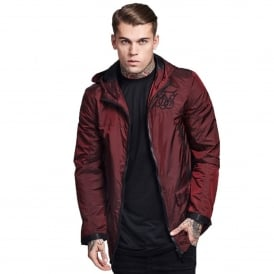 Sik Silk SS-11456 Vapour Lightweight Burgundy Jacket