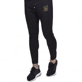 Sik Silk SS-12232 Zonal Track Jogger - Black/Gold