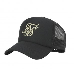c5ee48c9ee7 Sik Silk SS-14532 Foam Trucker Baseball Cap - Black Gold