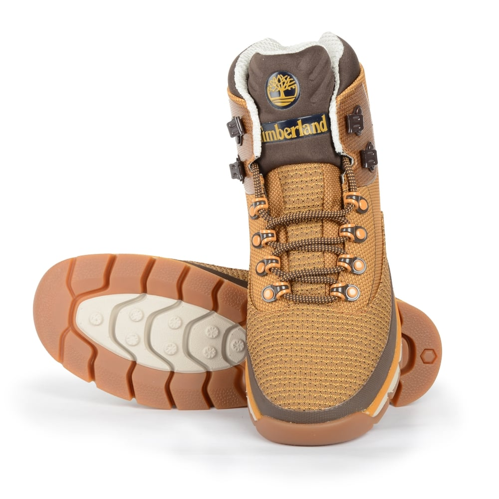 ecaab04be5c A1A92 Euro Hiker Jacquard Footwear Mid Boot - Wheat