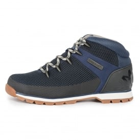 Timberland A1G98 Euro Sprint Fabric Footwear Mid Boot - Navy