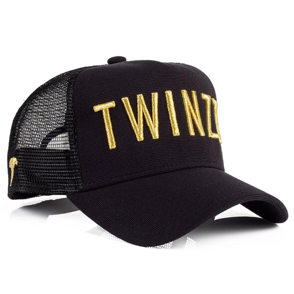 1d11cc0d Buy Twinzz Caps | CBMenswear | Twinzz TMT1018 Mesh Black / Gold Cap