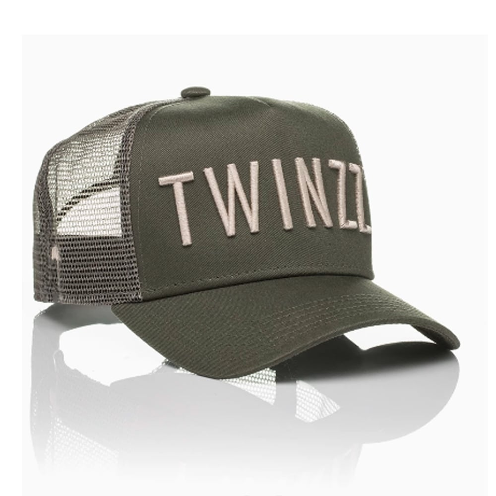 05ff446d Buy Twinzz Caps | CBMenswear | Twinzz TMT1052 Mesh Khaki Cap