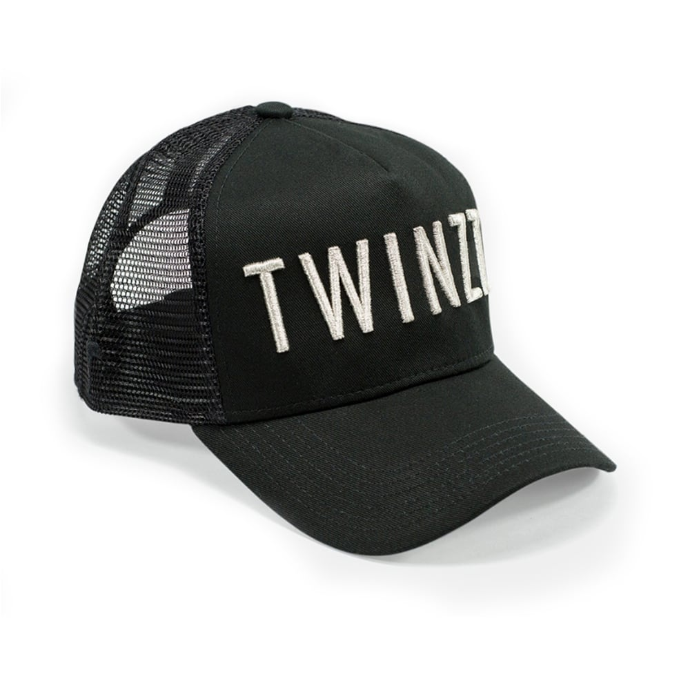 29cf2283 Buy Twinzz Caps | CBMenswear | Twinzz TMT1283 Mesh Black Cap