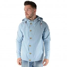 Weekend Offender Burgess Lightweight Jacket - Sky Blue