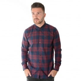 Weekend Offender Cusack 1703 Shirt - Navy