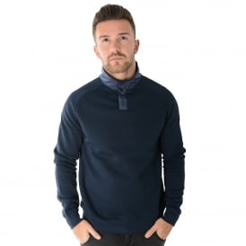 Weekend Offender Freeman 1707 Met-Tek Fleece Sweat Top - Navy