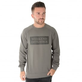 Weekend Offender Neeson 1712 Alloy Sweat Top - Gey
