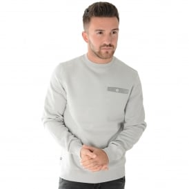 Weekend Offender Oldman 1714 Met-Tek Fleece Sweat Top - Quartz