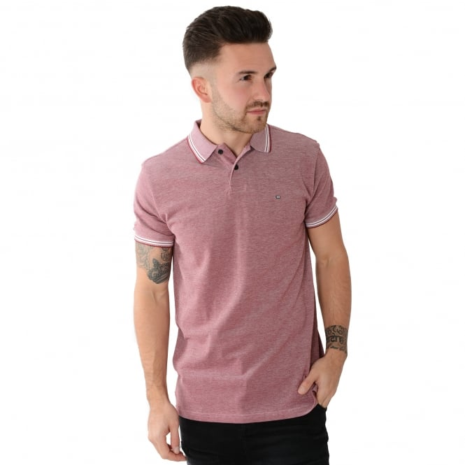 Weekend Offender Paradise 1704 Plum Polo Top