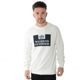 Weekend Offender Penetentiary WOO6 Sweat Top - Ecru
