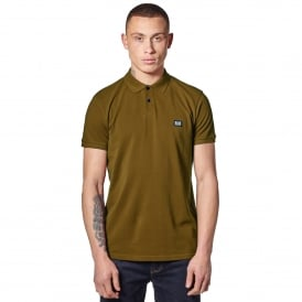 Weekend Offender Preistley 1801 Polo T-Shirt - Khaki