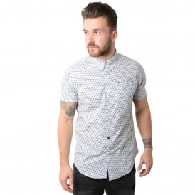 Weekend Offender Rob Roy 1718 Half-Sleeve Shirt - White