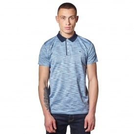 Weekend Offender Wharton 1802 Polo T-Shirt - Blue