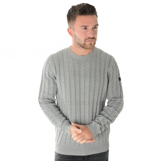 Weekend Offender Woods 1706 Cable Knit Jumper